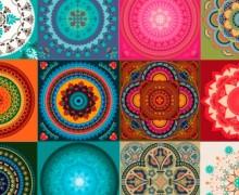 Mandala Mix - Azulejo