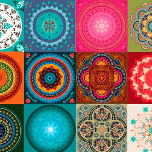 Artesanato Tecido Patchwork ~ Chandelle Decorações Adesivo